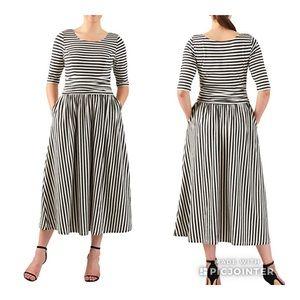 Eshakti Striped Dress
